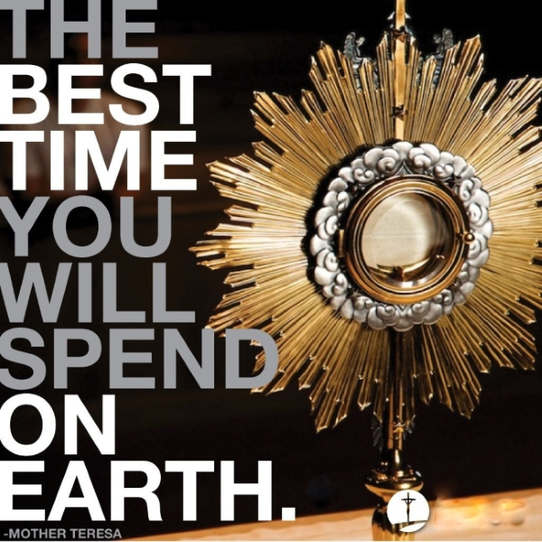 Eucharist Adoration MT W600
