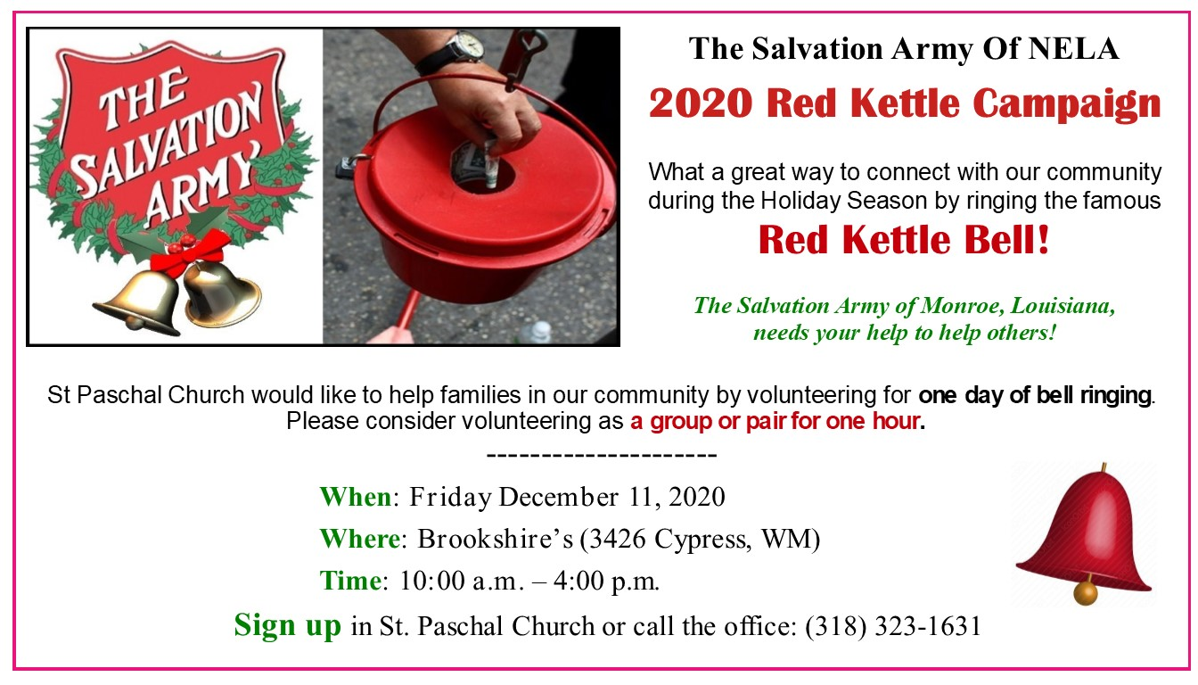 Red Kettle 2020W